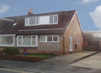 Thumbnail 4 bed semi-detached house for sale in Polefield, Fulwood, Preston