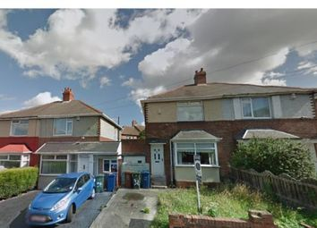 Thumbnail 2 bed semi-detached house for sale in Castleside Road, Newcastle Upon Tyne, Tyne And Wear, .