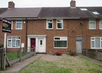 Thumbnail 2 bed terraced house for sale in Trittiford Road, Billesley