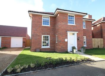 Thumbnail 4 bed detached house for sale in Stevenson Road, Wroxham, Norwich