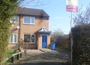 Thumbnail 2 bed town house to rent in Little Meadow Road, Chellaston, Derby.