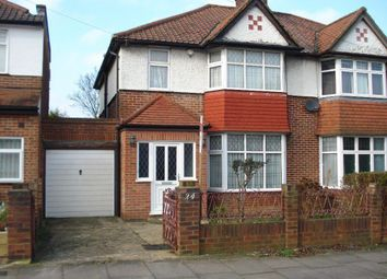 Thumbnail 3 bedroom semi-detached house to rent in Cotswold Gardens, Golders Green, London