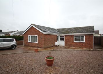 Thumbnail 4 bed detached bungalow for sale in Drybread Road, Whittlesey, Peterborough