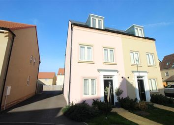 Thumbnail 4 bed semi-detached house for sale in Harvest Way, Thornbury