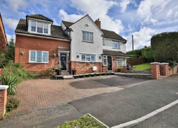 Thumbnail 5 bed detached house for sale in Vale View, Newport, Gwent.