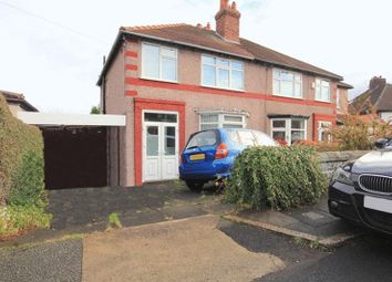 Thumbnail 3 bed semi-detached house for sale in Woodrock Road, Woolton, Liverpool