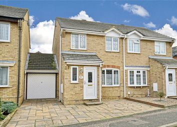 Thumbnail 3 bed semi-detached house for sale in Bodiam Way, Eynesbury, St Neots