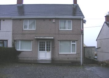 Thumbnail 3 bed semi-detached house to rent in Tir Capel, Llanelli