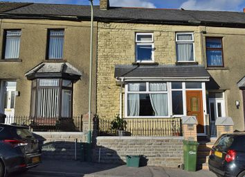 Thumbnail 3 bed terraced house for sale in High Street, Caerphilly