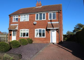 Thumbnail 3 bed semi-detached house to rent in Popes Lane, Terrington St. Clement, King's Lynn