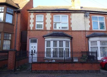 Thumbnail 3 bed terraced house for sale in Church Avenue, Off Glenfield Road, Leicester