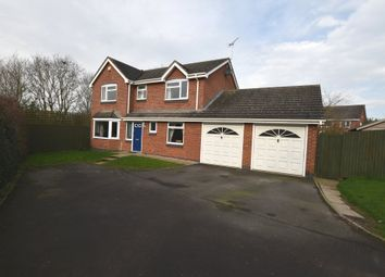 Thumbnail 4 bed detached house for sale in Priors Lane, Market Drayton