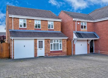 Thumbnail 3 bed detached house for sale in Haymaker Way, Wimblebury, Cannock
