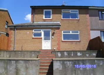 Thumbnail 3 bed semi-detached house for sale in Hawthorne Avenue, Hengoed