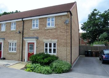 Thumbnail 3 bed end terrace house to rent in Lucius Close, North Hykeham, Lincoln