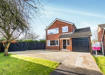 Thumbnail 3 bed detached house for sale in Lintin Close, Heighington, Lincoln