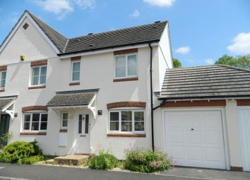 Thumbnail 3 bed semi-detached house to rent in Fairfield, Ilminster