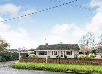 Thumbnail 3 bed detached bungalow for sale in Brinkley Road, Dullingham, Newmarket