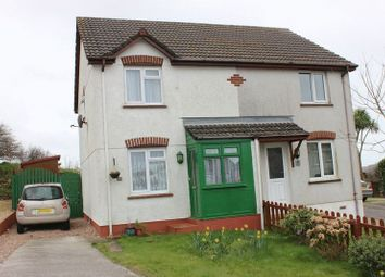 Thumbnail 2 bed semi-detached house for sale in The Meadows, St. Dennis, St. Austell