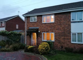 Thumbnail 3 bed semi-detached house to rent in Newlands, Ashford, Kent