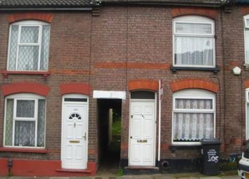 Thumbnail 3 bed terraced house to rent in Russell Street, Luton