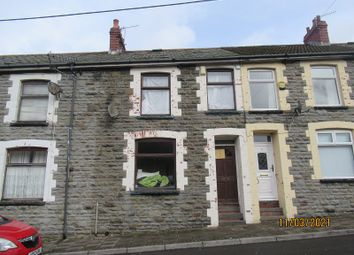 Thumbnail 3 bed terraced house for sale in Ynysfeio Avenue, Treherbert, Rhondda Cynon Taff.