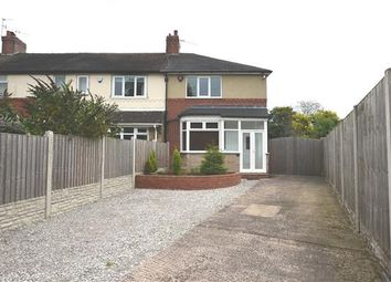 Thumbnail 3 bedroom end terrace house to rent in Church Lane, Wolstanton, Newcastle