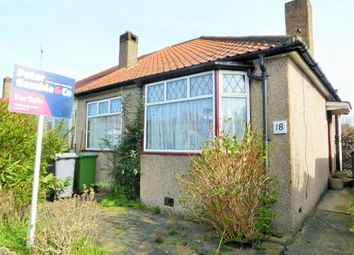 Thumbnail 2 bedroom semi-detached bungalow for sale in Repton Avenue, Wembley, Middlesex
