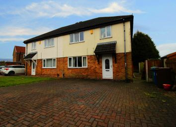 Thumbnail 3 bed semi-detached house for sale in Castle Grove, Leigh, Lancashire