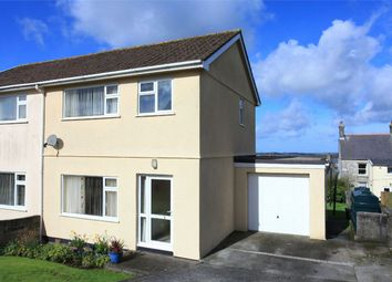 Thumbnail 3 bed semi-detached house for sale in Kellow Road, St. Dennis, St. Austell