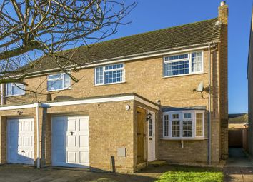 Thumbnail 3 bed semi-detached house for sale in Holliers Crescent, Middle Barton, Chipping Norton