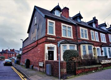 Thumbnail 4 bed end terrace house for sale in Nottingham Road, Mansfield
