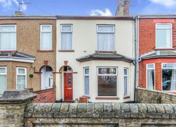 Thumbnail 3 bedroom terraced house for sale in St. Margarets Road, Lowestoft, Suffolk