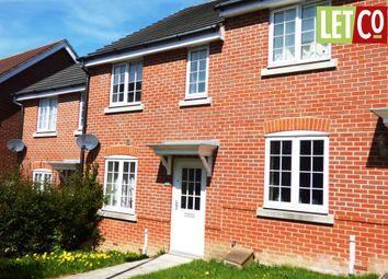 Thumbnail 2 bed terraced house to rent in Thyme Avenue, Whiteley, Fareham