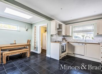 Thumbnail 2 bed detached bungalow for sale in St. Margarets Close, Horstead, Norwich