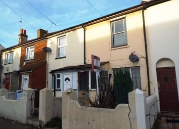 Thumbnail 2 bedroom terraced house for sale in Trafalgar Street, Gillingham, Kent
