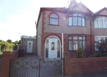 Thumbnail 4 bed semi-detached house for sale in Clifton Park Road, Rhyl, Denbighshire