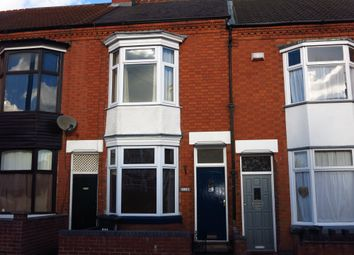 Thumbnail 2 bed terraced house to rent in Hopefield Road, West End, Leicester