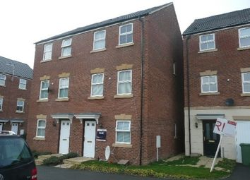Thumbnail 3 bed town house to rent in Carlisle Close, Corby