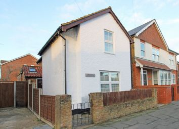 Thumbnail 3 bed detached house for sale in York Road, Byfleet, Surrey
