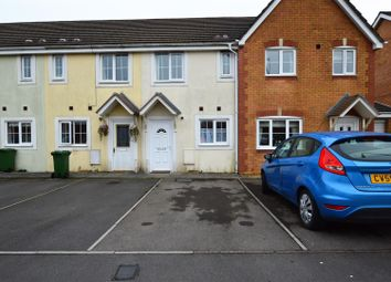Thumbnail 2 bed terraced house for sale in Cynllan Avenue, Llanharan, Pontyclun