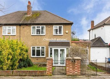 Thumbnail 3 bed semi-detached house for sale in Broxbourne Avenue, London