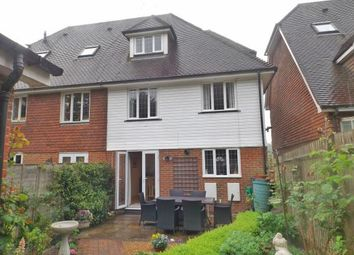 Thumbnail 4 bed semi-detached house for sale in Rammell Mews, Frythe Way, Cranbrook, Kent