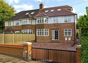 Thumbnail 5 bed semi-detached house for sale in Watling Street, St Albans, Hertfordshire