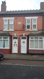 Thumbnail 3 bed terraced house to rent in Yew Tree Road, Aston, Birmingham