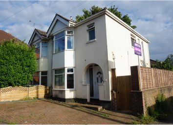 Thumbnail 3 bed semi-detached house for sale in Beech Road, Southampton
