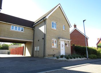 Thumbnail 3 bed link-detached house for sale in Clare Drive, Highfields Caldecote, Cambridge