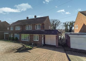 Thumbnail 3 bed semi-detached house for sale in Lords Wood Lane, Lordswood, Chatham
