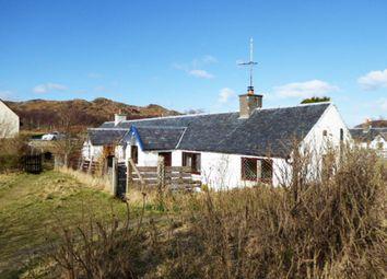 Thumbnail 2 bed cottage for sale in 2 Tougal, Morar, Morar Sands