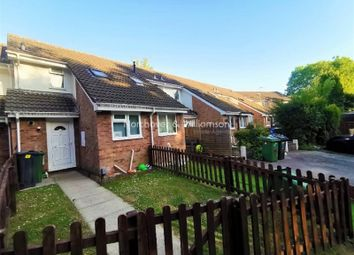 Thumbnail 2 bed terraced house for sale in The Dell, St. Mellons, Cardiff.